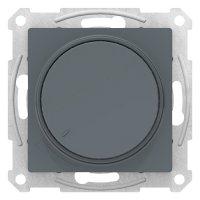 Schneider Electric AtlasDesign Грифель Светорегулятор (диммер) поворотно-нажимной 630Вт механизм купить в интернет-магазине Азбука Сантехники