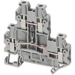 Schneider Electric Linergy TR Колодка клеммная проходная винтовая 2P - 1x1 2.5-4мм / серый купить в интернет-магазине Азбука Сантехники