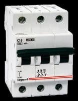 Legrand DX3-E Автомат 3P 32A (С) 6/6kA купить в интернет-магазине Азбука Сантехники