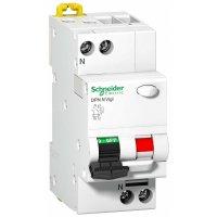 Schneider Electric Acti 9 DPN N Vigi Дифавтомат 1P+N 16A (B) 6kA тип AC 300mA купить в интернет-магазине Азбука Сантехники