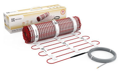 Теплый пол электрический Electrolux EEFM 2-150-2, самоклеящийся купить в интернет-магазине Азбука Сантехники