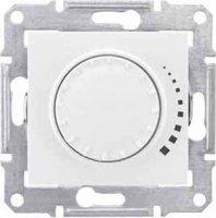 Schneider Electric Sedna Белый Светорегулятор поворотно-нажимной индуктивный 60-500 Вт купить в интернет-магазине Азбука Сантехники