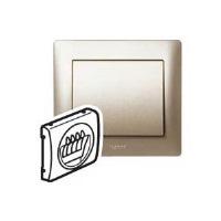 Legrand Galea Life Титан Накладка розетки двойной для акустических систем купить в интернет-магазине Азбука Сантехники