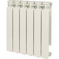 Stout Bravo 500 — 6 секций алюминиевый радиатор отопления купить в интернет-магазине Азбука Сантехники