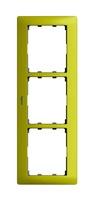 Legrand Galea Life Зеленый Металл/Metal Magic Green Рамка 3 поста вертикальная купить в интернет-магазине Азбука Сантехники
