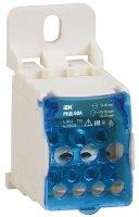 IEK РБД Кросс-модуль, на DIN-рейку, ввод 1х16мм2/вывод 2х16+4х10мм2, 80A, 22kA купить в интернет-магазине Азбука Сантехники