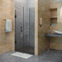 Душевая дверь RGW Hotel HO-012B, 900 × 1950 мм, с прозрачным стеклом, профиль — черный купить в интернет-магазине Азбука Сантехники