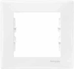 Schneider Electric Sedna Белый Рамка 1-постовая купить в интернет-магазине Азбука Сантехники