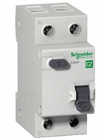 Schneider Electric Easy 9 Дифавтомат 1P+N 16A (C) 4,5kA тип AC 30mA купить в интернет-магазине Азбука Сантехники