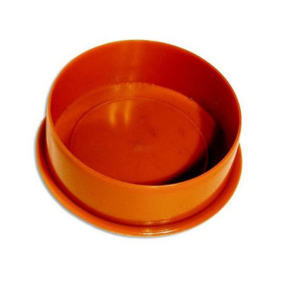 Заглушка ПВХ Ø 110 мм для наружной канализации купить в интернет-магазине Азбука Сантехники