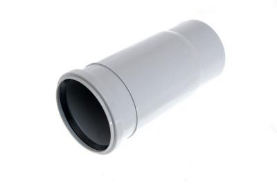 Патрубок компенсационный Политэк Ø 50 мм полипропиленовый серый купить в интернет-магазине Азбука Сантехники