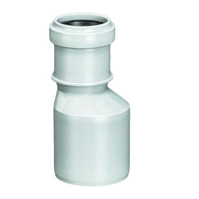Переход эксцентрический Политэк Ø 32/50 мм полипропиленовый серый купить в интернет-магазине Азбука Сантехники