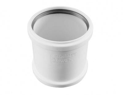 Муфта надвижная Rehau Raupiano Plus с резиновым уплотнительным кольцом Ø 110 мм купить в интернет-магазине Азбука Сантехники