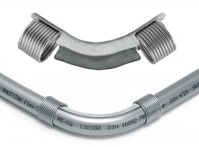 Отвод направляющий Rehau RAUTITAN 90° с кольцами Ø 16 мм купить в интернет-магазине Азбука Сантехники