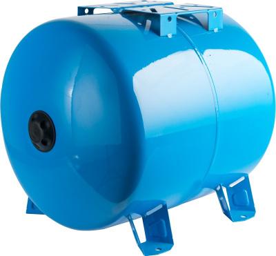 Расширительный бак STOUT 100 л для водоснабжения горизонтальный купить в интернет-магазине Азбука Сантехники