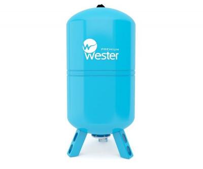 Расширительный бак Wester WAV 100 л для водоснабжения вертикальный купить в интернет-магазине Азбука Сантехники