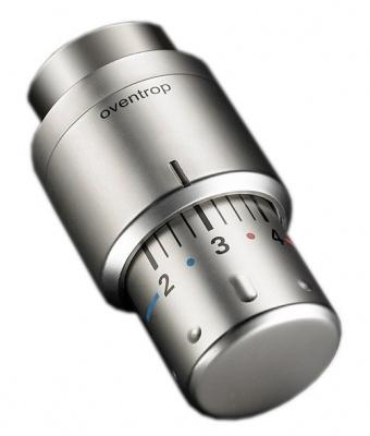 Головка термостатическая Oventrop Uni SH — матовая сталь купить в интернет-магазине Азбука Сантехники