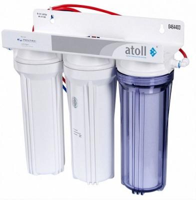 Фильтр проточный питьевой ATOLL A-313E купить в интернет-магазине Азбука Сантехники