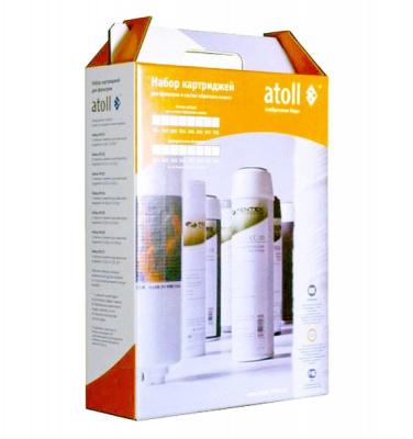 Набор картриджей ATOLL (№ 304) A-313Eg, D-31s купить в интернет-магазине Азбука Сантехники
