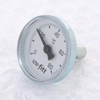 """Термометр погружной аксиальный UNI-FITT 1/2"""" 60 °C, 33 мм купить в интернет-магазине Азбука Сантехники"""