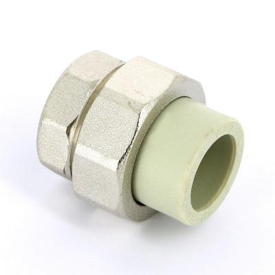 """Муфта с разъемным соединением FV-plast Ø 20 мм × 3/4"""" полипропиленовая, сварка (внутренняя резьба) купить в интернет-магазине Азбука Сантехники"""