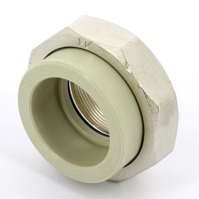 """Муфта с разъемным соединением FV-plast Ø 63 мм × 2"""" полипропиленовая, сварка (внутренняя резьба) купить в интернет-магазине Азбука Сантехники"""