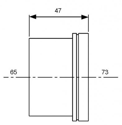 Гильза для трубы PE-Xc/Al/PE Ø 63 мм, TECE TECEflex (734563) купить в интернет-магазине Азбука Сантехники