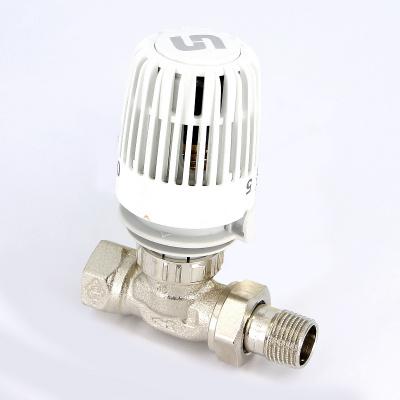 Ограничитель температуры обратного потока теплоносителя UNI-FITT, никелированный, с разъемным соединением купить в интернет-магазине Азбука Сантехники