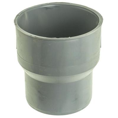 Переход на чугун (тапер) Политэк Ø 110/124 мм полипропиленовый серый купить в интернет-магазине Азбука Сантехники