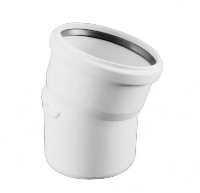 Отвод Rehau Raupiano Plus Ø 50 мм × 15° купить в интернет-магазине Азбука Сантехники