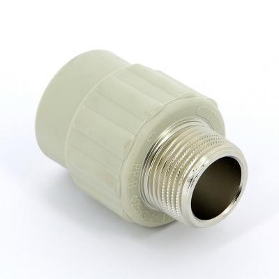 """Муфта полипропиленовая FV-Plast с наружной резьбой Ø 25 мм × 3/4"""" купить в интернет-магазине Азбука Сантехники"""