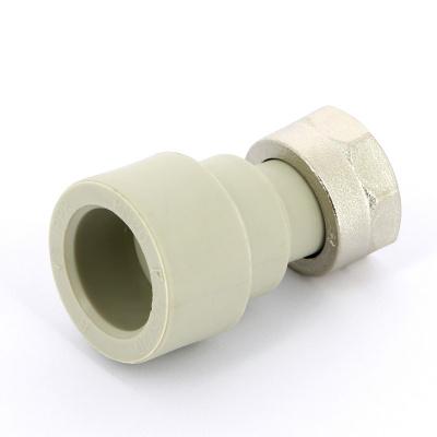 """Муфта полипропиленовая с накидной гайкой FV-Plast Ø 25 мм × 3/4"""", для холодной воды купить в интернет-магазине Азбука Сантехники"""