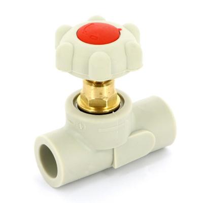 FV-plast вентиль полипропиленовый Ø 25 мм сварка купить в интернет-магазине Азбука Сантехники