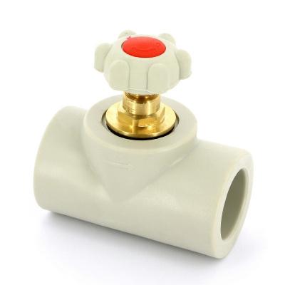 FV-plast вентиль полипропиленовый Ø 40 мм сварка купить в интернет-магазине Азбука Сантехники