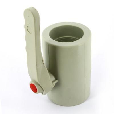Кран шаровой полипропиленовый FV-plast Ø 75 мм сварка ручка купить в интернет-магазине Азбука Сантехники