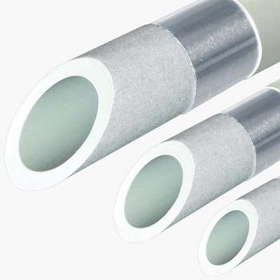 Труба полипропиленовая армированная PN20 FV-plast StabiOXY Ø 40 × 4,5 мм с алюминиевым слоем без перфорации (4 м) купить в интернет-магазине Азбука Сантехники