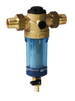 """Фильтр SYR Ratio FR DN15 с обратной промывкой Ø 1/2"""" для холодной воды купить в интернет-магазине Азбука Сантехники"""