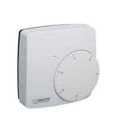 Термостат комнатный Watts WFHT Basic с нормально открытым сервоприводом 24 В купить в интернет-магазине Азбука Сантехники