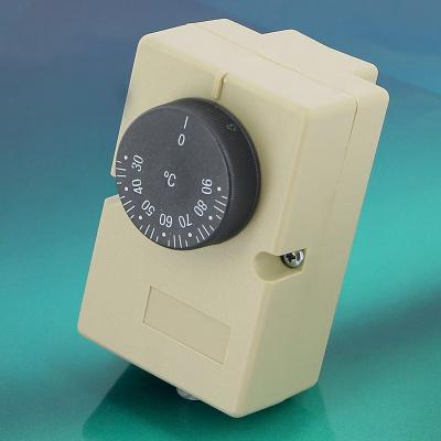 Термостат контактный с наружной шкалой и пружиной для монтажа на трубах EMMETI, 30–90 ˚C купить в интернет-магазине Азбука Сантехники