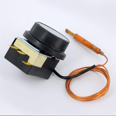Термостат регулировочный капиллярный 16 А, 400 В EMMETI с трубкой 1000 мм купить в интернет-магазине Азбука Сантехники