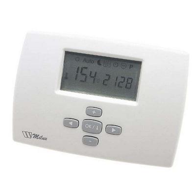Термостат электронный Watts MILUX, недельное программирование 8 А, 230 В купить в интернет-магазине Азбука Сантехники