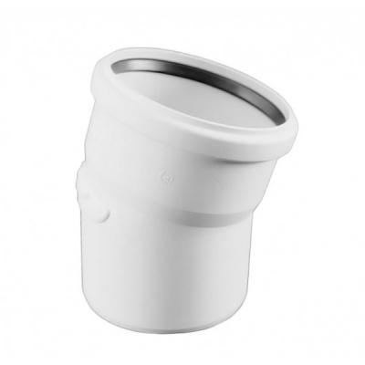 Отвод Rehau Raupiano Plus Ø 40 мм × 15° купить в интернет-магазине Азбука Сантехники