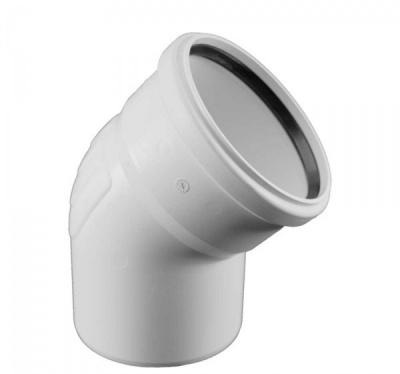 Отвод Rehau Raupiano Plus Ø 40 мм × 45° купить в интернет-магазине Азбука Сантехники