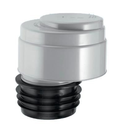 Клапан вентиляционный (аэратор) для канализации McALpine MRAA1 со смещением и прокладкой купить в интернет-магазине Азбука Сантехники