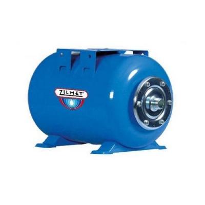 Zilmet ULTRA-PRO - 24 л гидроаккумулятор горизонтальный синий (PN10, мембрана бутил, фланец нерж. сталь) купить в интернет-магазине Азбука Сантехники