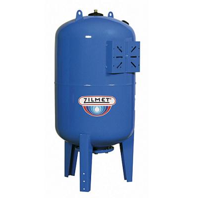Zilmet ULTRA-PRO - 1500 л гидроаккумулятор вертикальный синий (PN10, мембрана бутил, фланец стальной) купить в интернет-магазине Азбука Сантехники