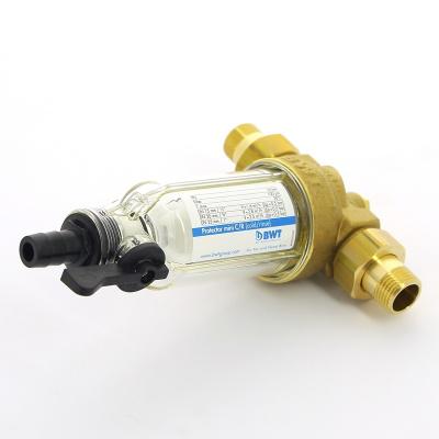"""Фильтр промывной BWT Ø 1/2"""" для холодной воды, со сменным элементом Protector mini купить в интернет-магазине Азбука Сантехники"""