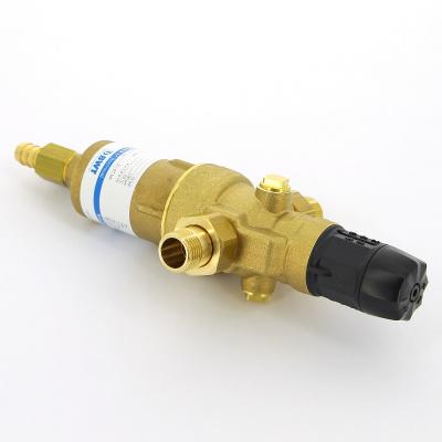 """Фильтр промывной BWT Protector mini HWS Ø 1/2"""" 100 мкм, латунная колба купить в интернет-магазине Азбука Сантехники"""