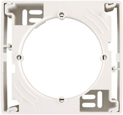 Schneider Electric Sedna Белый Коробка наружного монтажа одиночная купить в интернет-магазине Азбука Сантехники