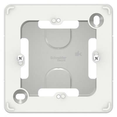 Schneider Electric Blanca Белый Коробка подъемная с возможностью соединения нескольких коробок скрытой установки купить в интернет-магазине Азбука Сантехники